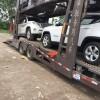 广州海汌轿车托运公司-专业笼车装载运输私家车到全国各地