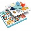 飞行棋跳棋五子棋斗兽棋蛇棋类儿童玩具益智二合一学生多功能玩具