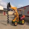 铁路公路工程用柴油装载机 果园农用柴油旋耕机