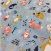 福建厂家 动物印花水刺布 口罩布 可定制图案