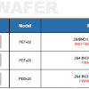 PW深紫外UVB UVC WAFER外延片晶片