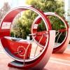 江门景区网红自行车喷泉等你来挑战 山东三喜
